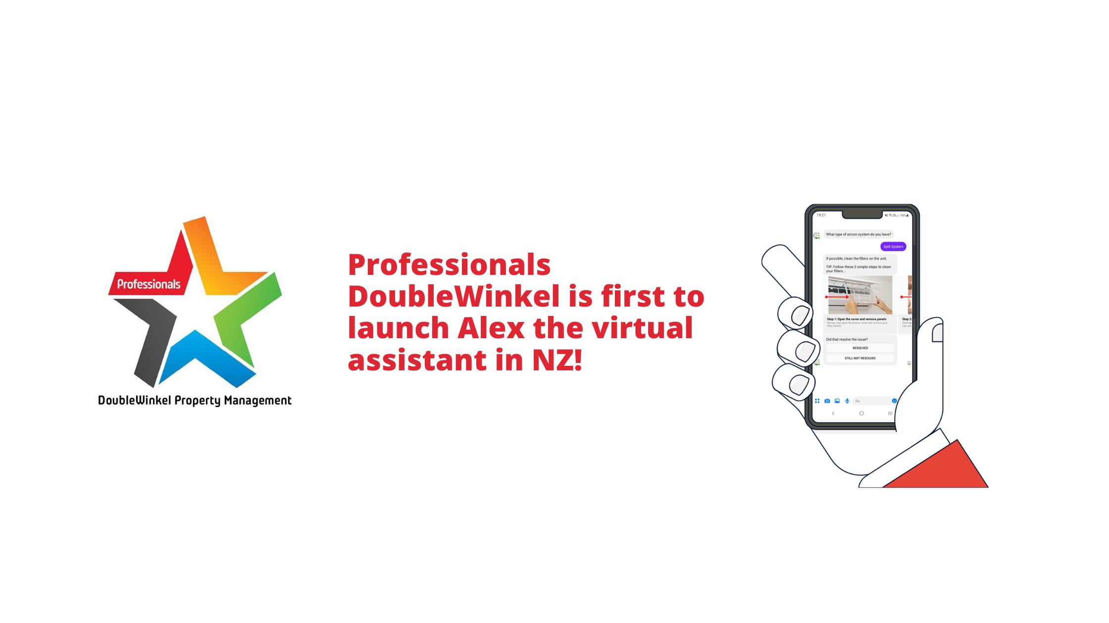 Professionals DoubleWinkel NZ First To Launch Alex In NZ