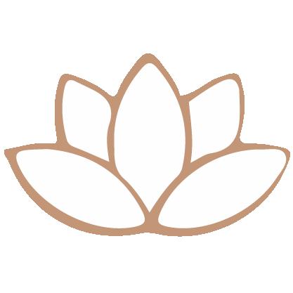 Lotus flower icon.