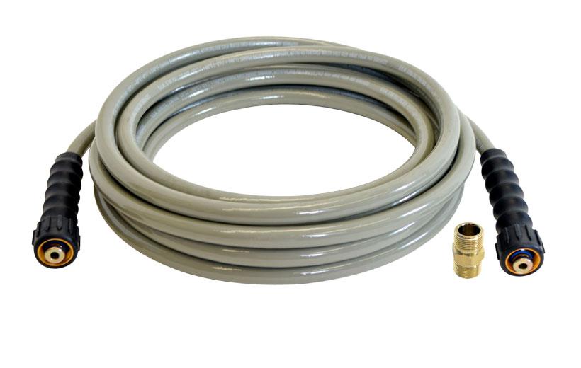 Image of a gray hose