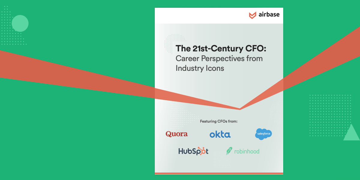 Airbase releases The 21st-Century CFO, an ebook for strategic finance teams.