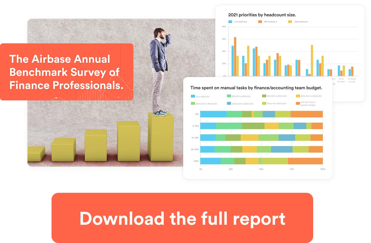 Download the Airbase Annual Benchmark Survey of Finance Professionals.