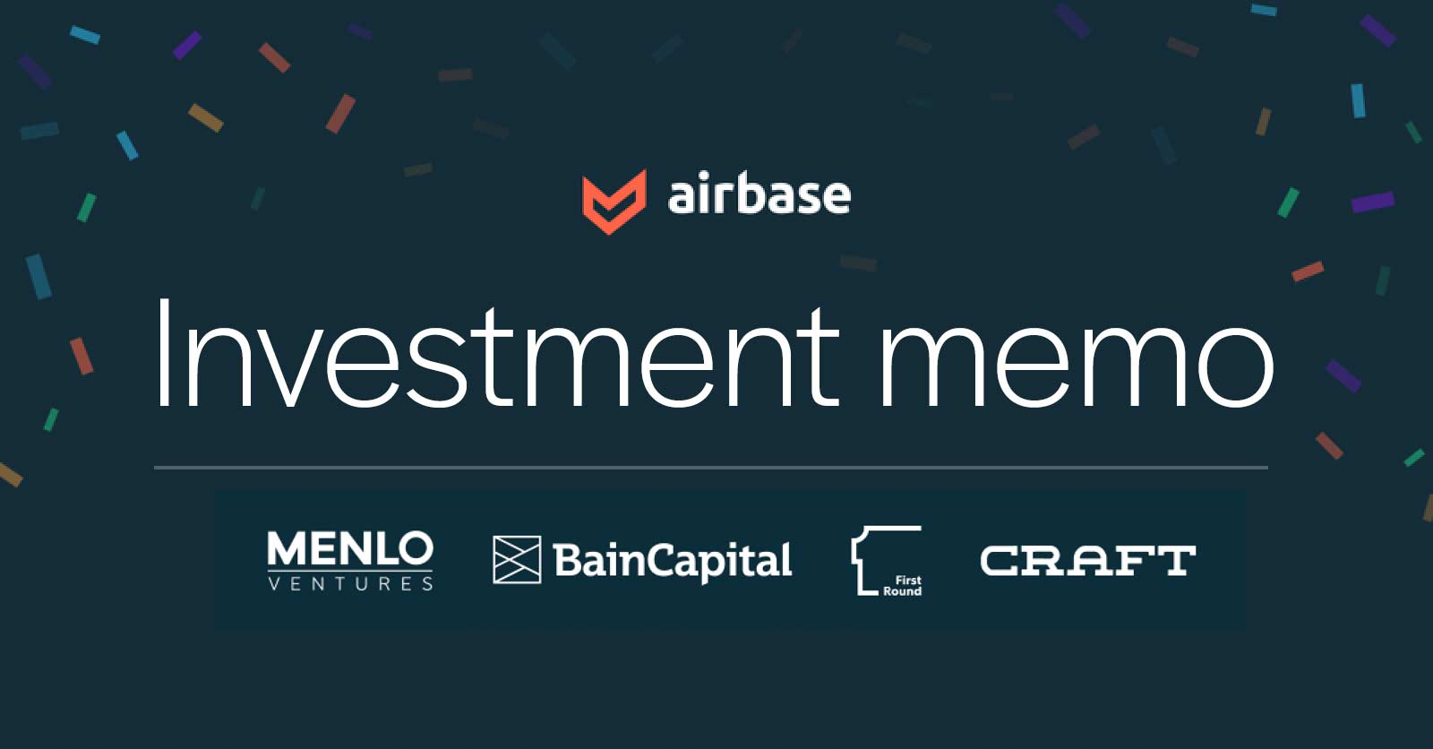 The investment memo that helped us raise $60M in 10 days.