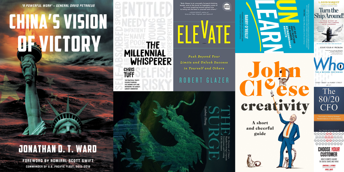 Best books for CFOs: Enter the Top Finance Books Sweepstakes.