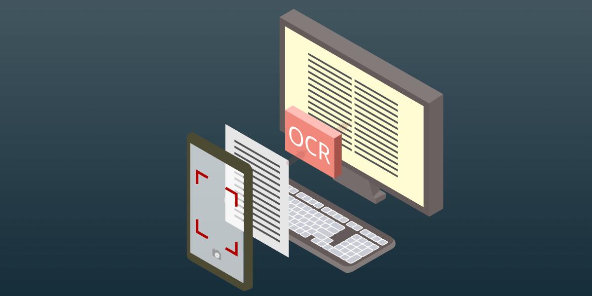 How OCR technology improves spend management.