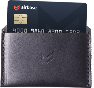 Airbase corporate card program includes physical cards.