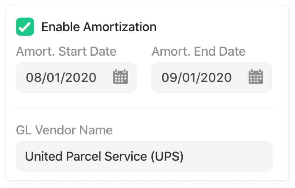 Set an amortization schedule.