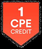 1 CPE Credit