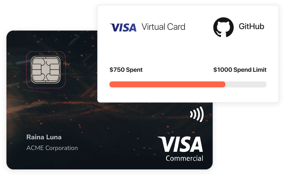 Corporate and Virtual Cards