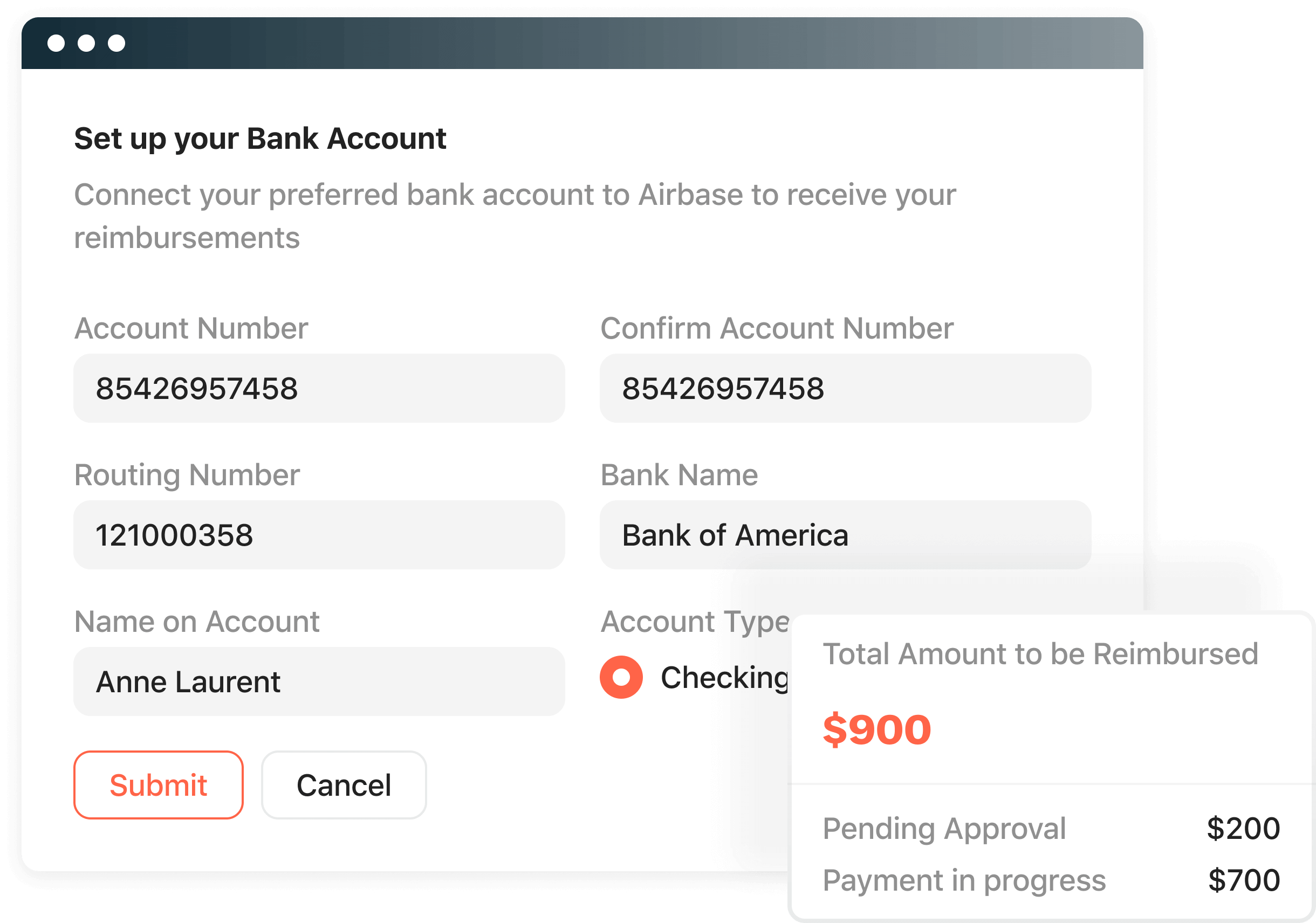 Airbase accounting automation includes the creation of an amortization schedule.