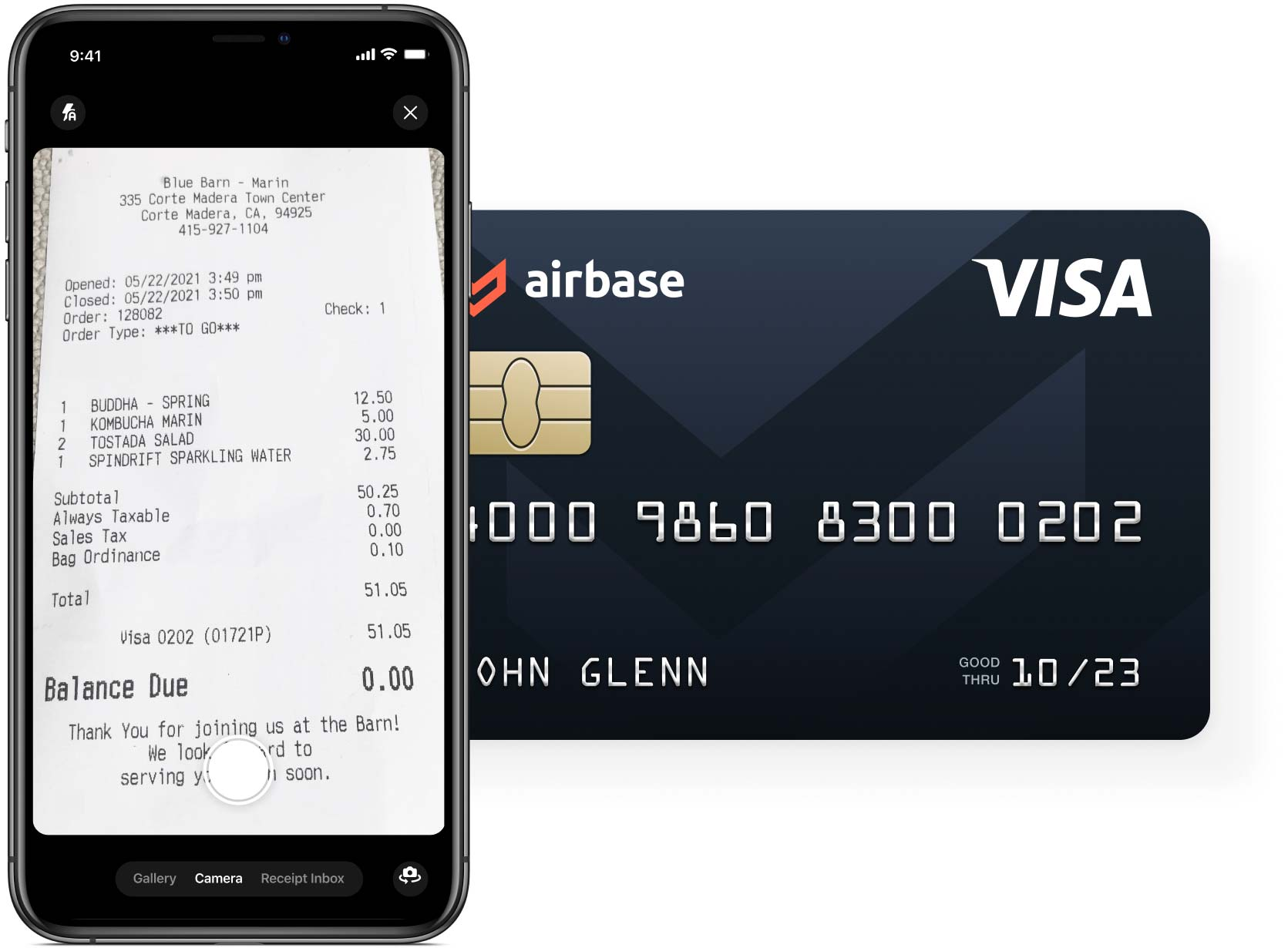 Airbase spend management gives employees easy access to request approval for spend.