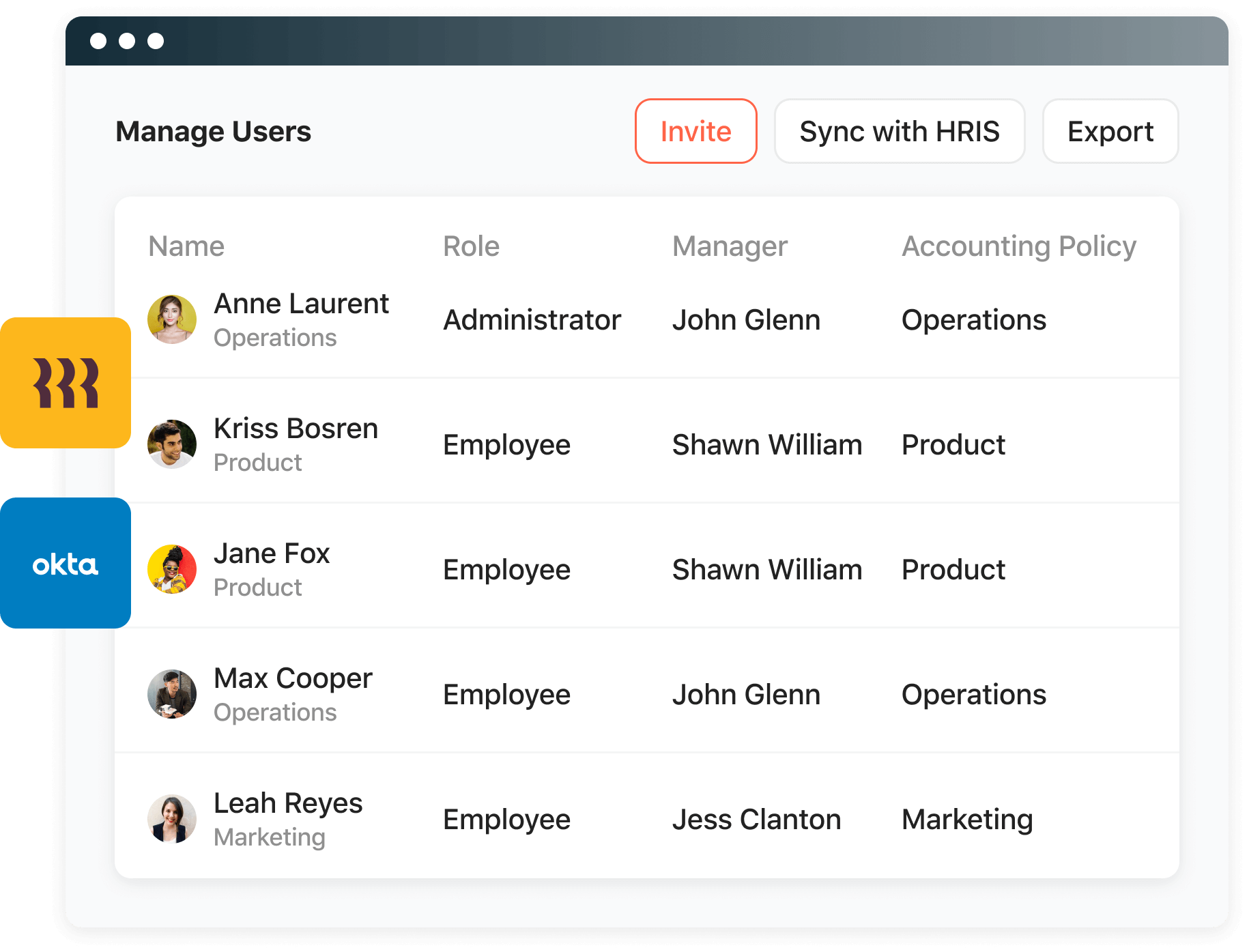 Airbase integrates with Rippling for onboarding.