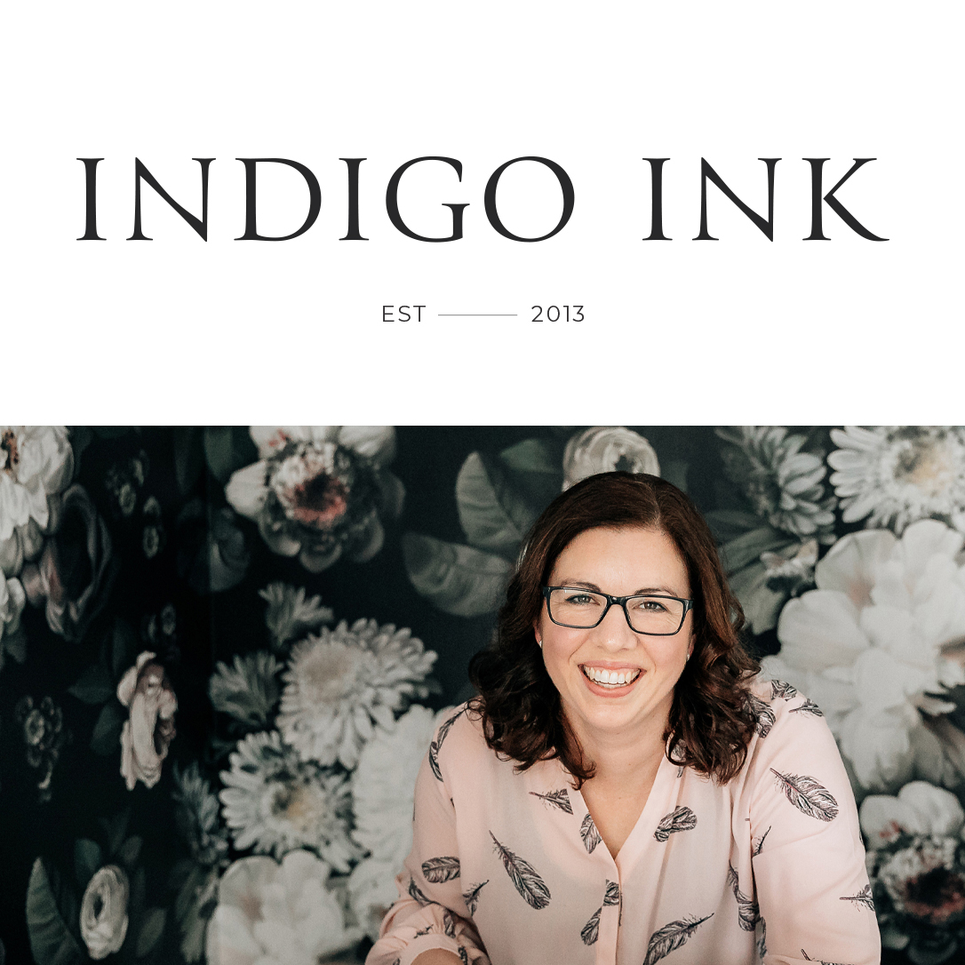 Indigo Ink: Brand + Web Design