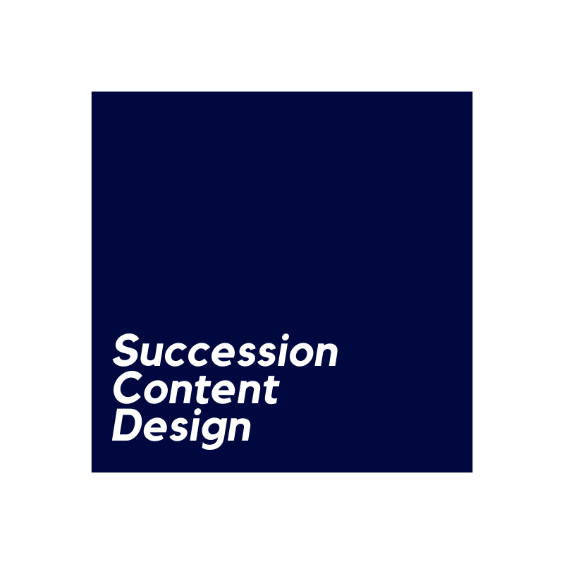 Succession Content Design