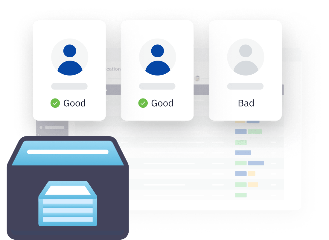 Identity verification looks at customer identities before onboarding a customer to a platform.