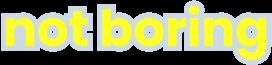 Packy McCormick's NotBoring Logo