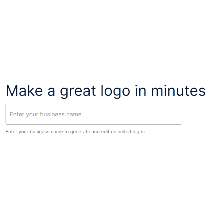 Make a Logo For Your Business