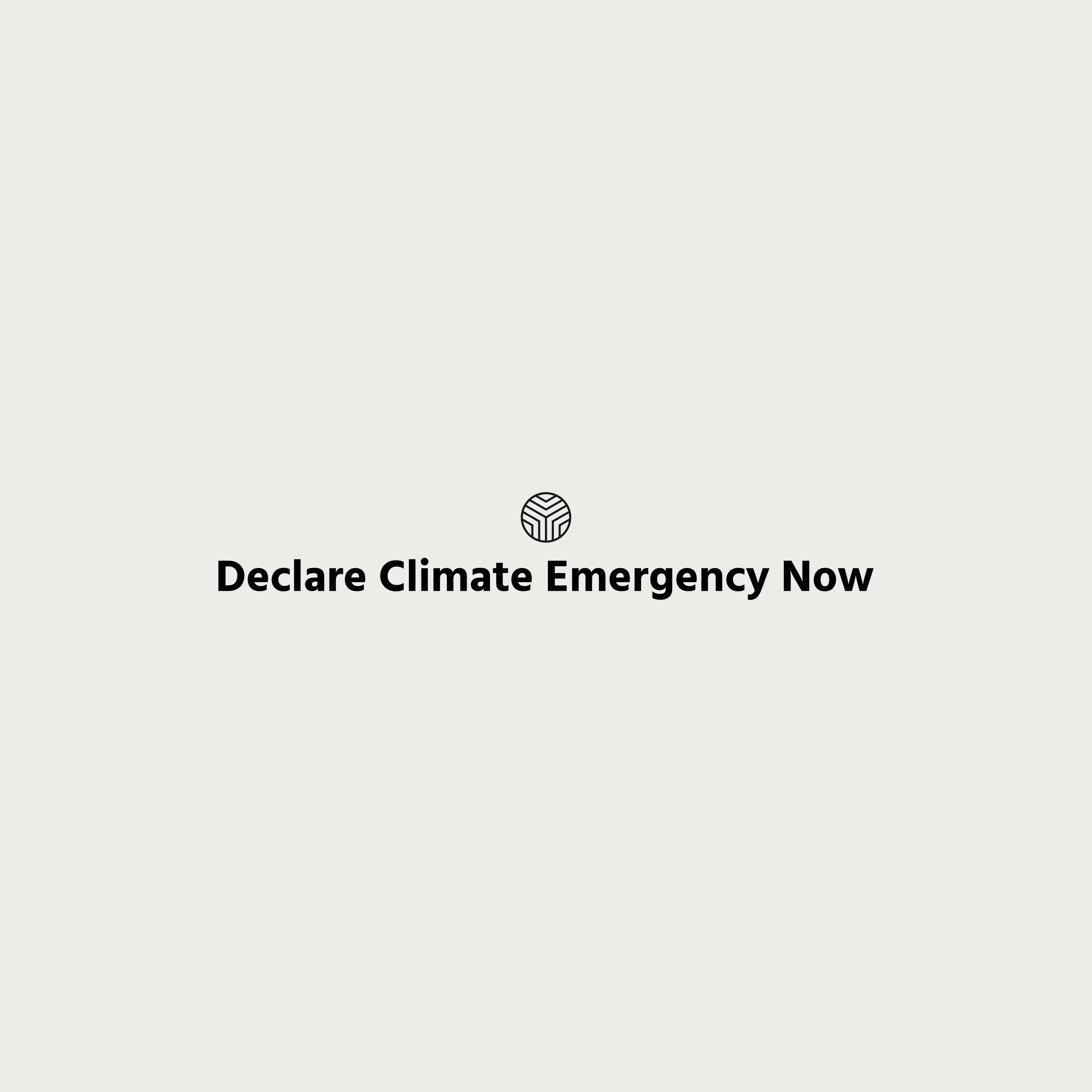 Declare Climate Emergency Now
