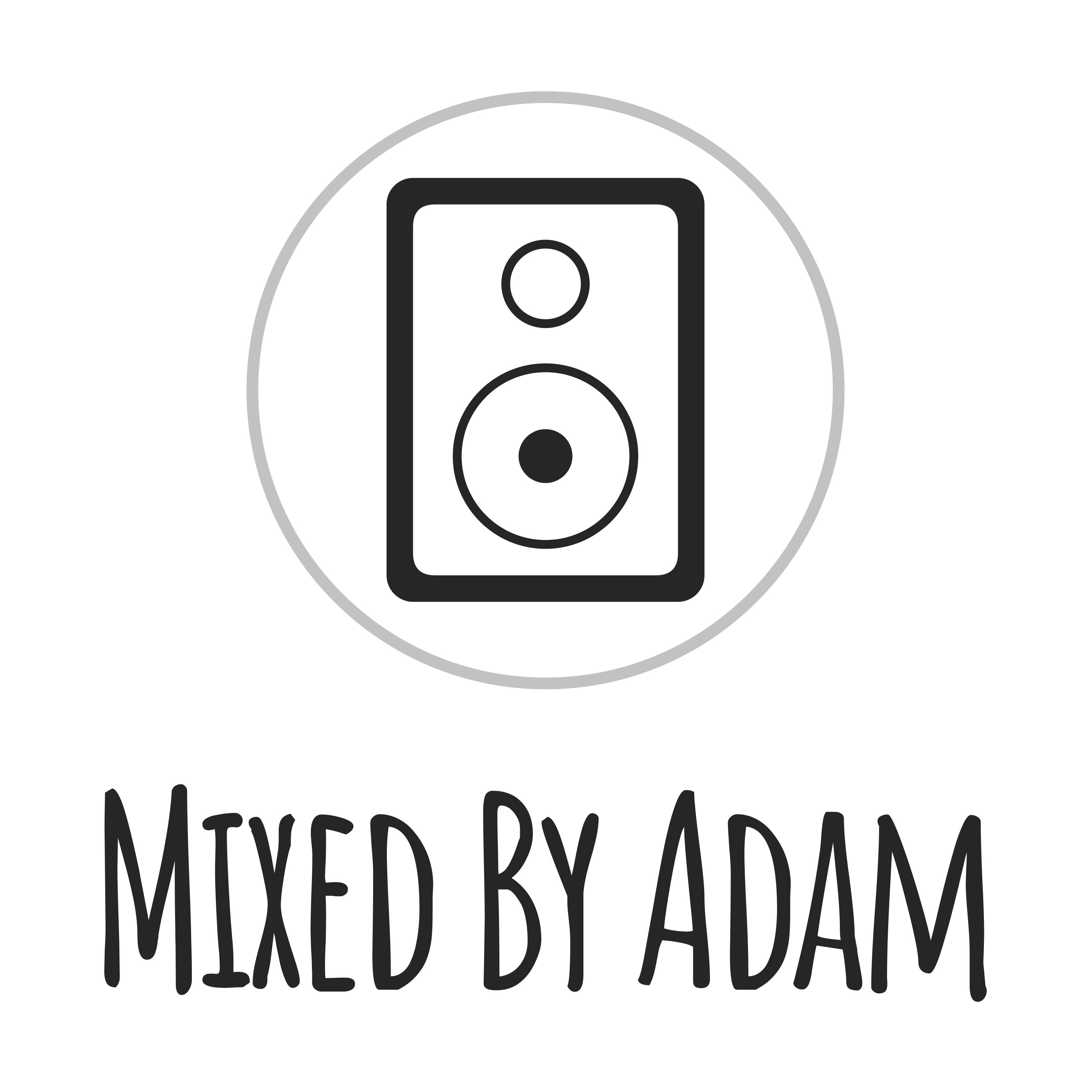 Mixed By Adam