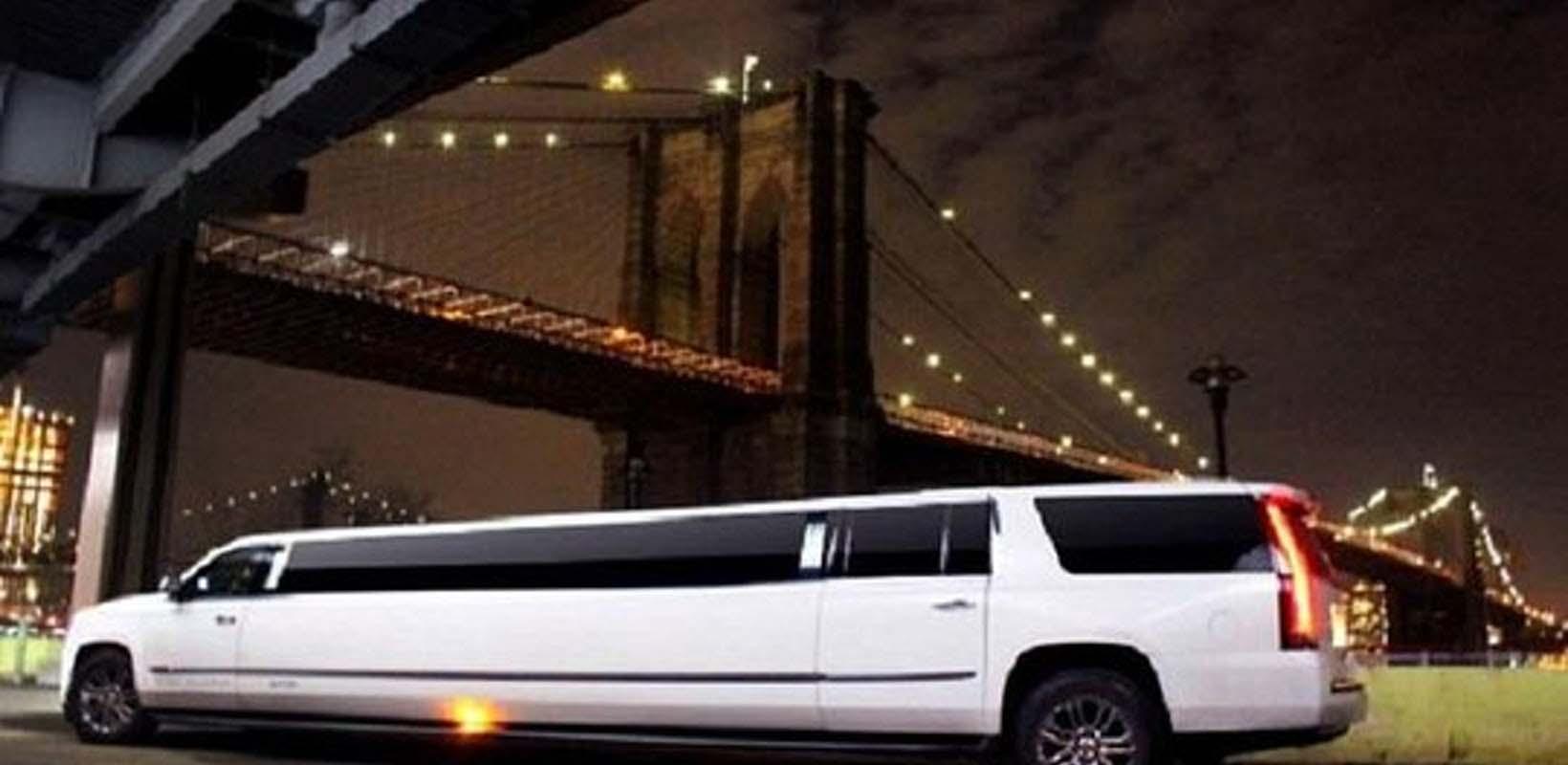 NYC limousine lights tour