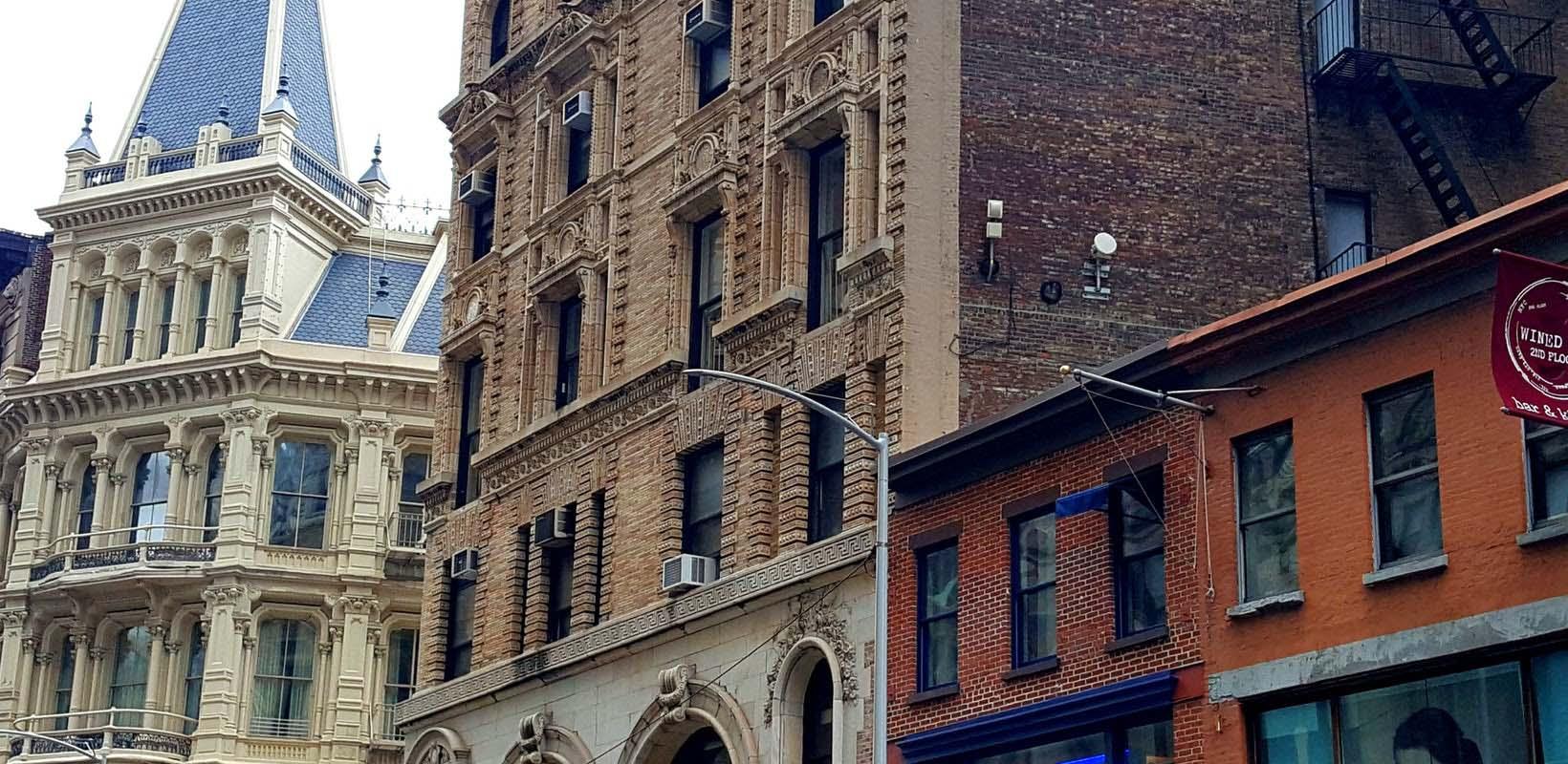 Ruins of a Forgotten City Manhattan walking tour