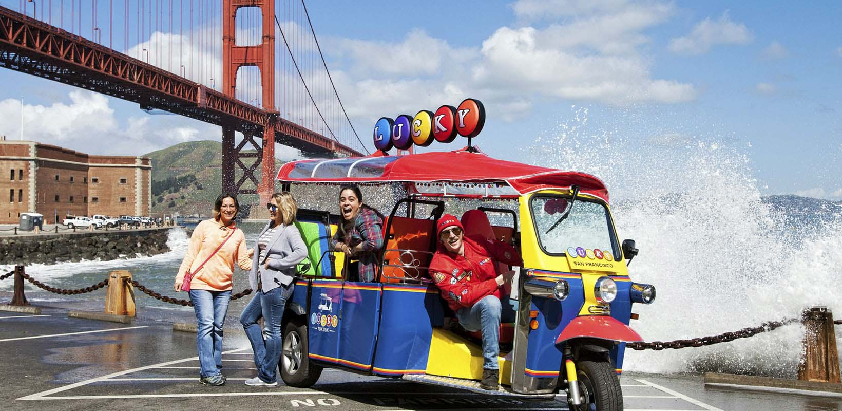 Tuk Tuk San Francisco City Tour
