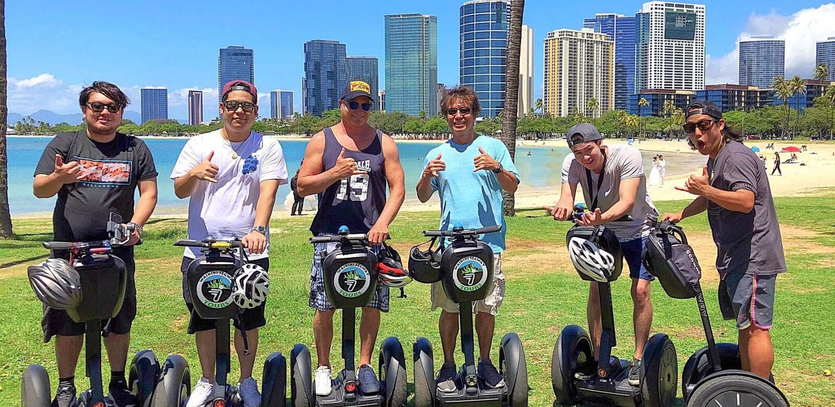 Magic island segway experience from Waikiki
