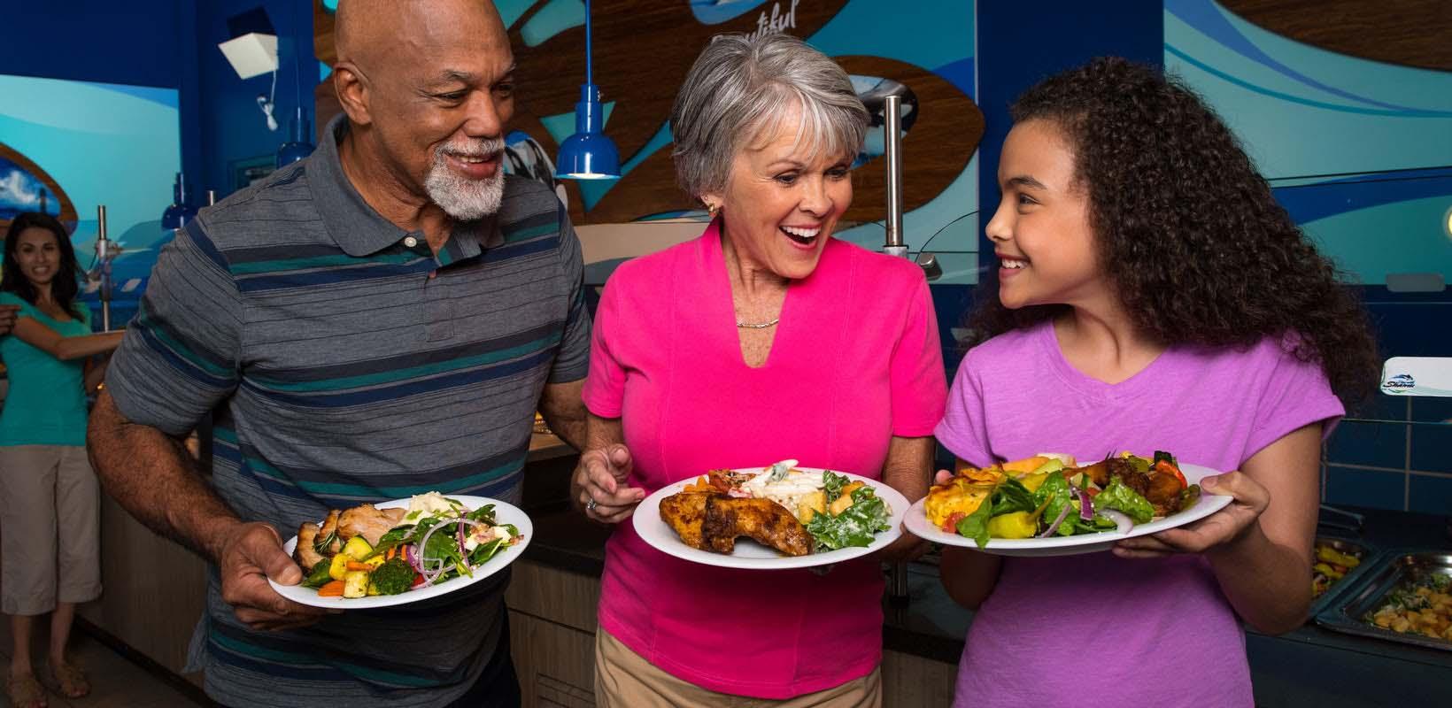 Up-close Dining at SeaWorld