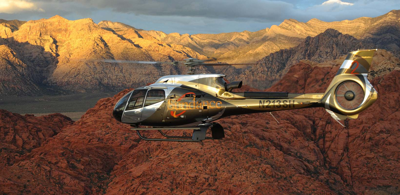 red rock canyon helicopter tour with champagne picnic