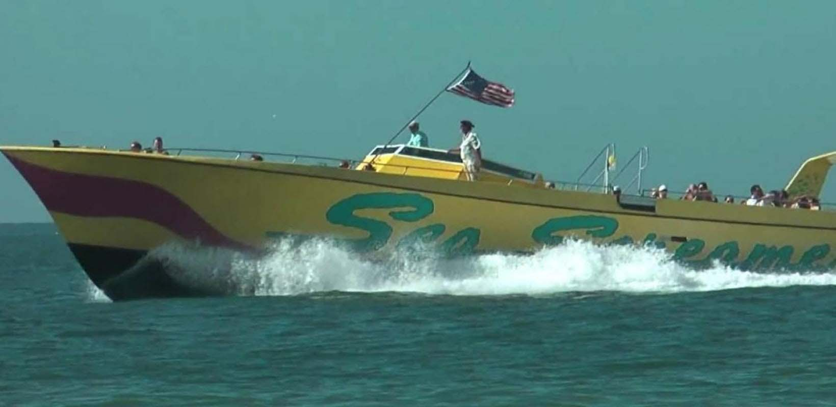 Sea Screamer speedboat ride at Clearwater Beach with Lunch