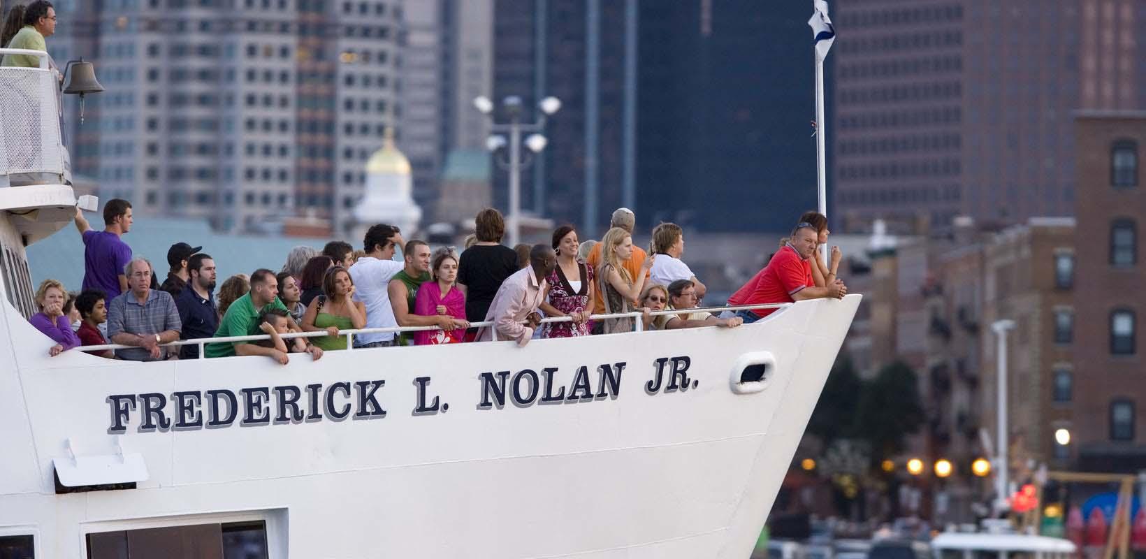 Boston Harbor Historic Sightseeing Cruise