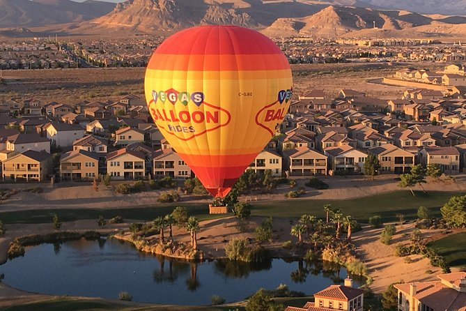 Hot Air Balloon Ride Las Vegas