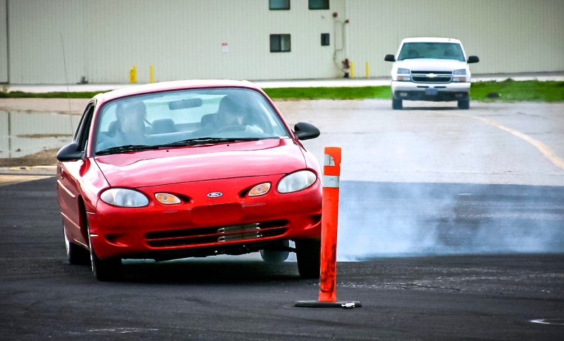 Stunt Driving Course