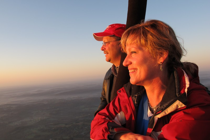 Hot Air Balloon Ride Bucks County PA