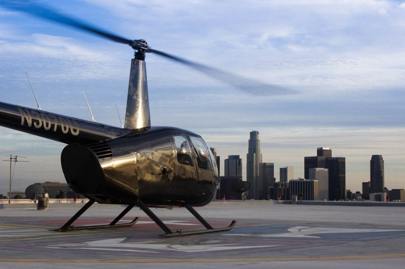 Los Angeles Rooftop Landing Helicopter Tour