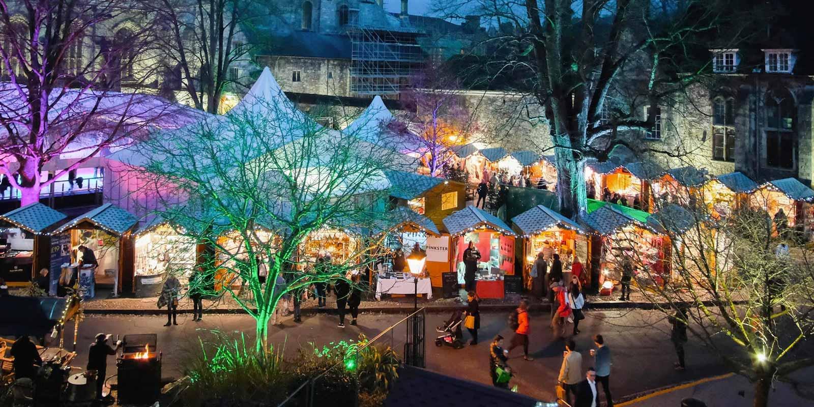 Belmond British Pullman Winchester Christmas Market