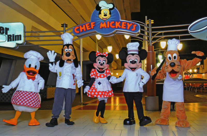 Chef Mickey's Character Dinner & Limousine - Child
