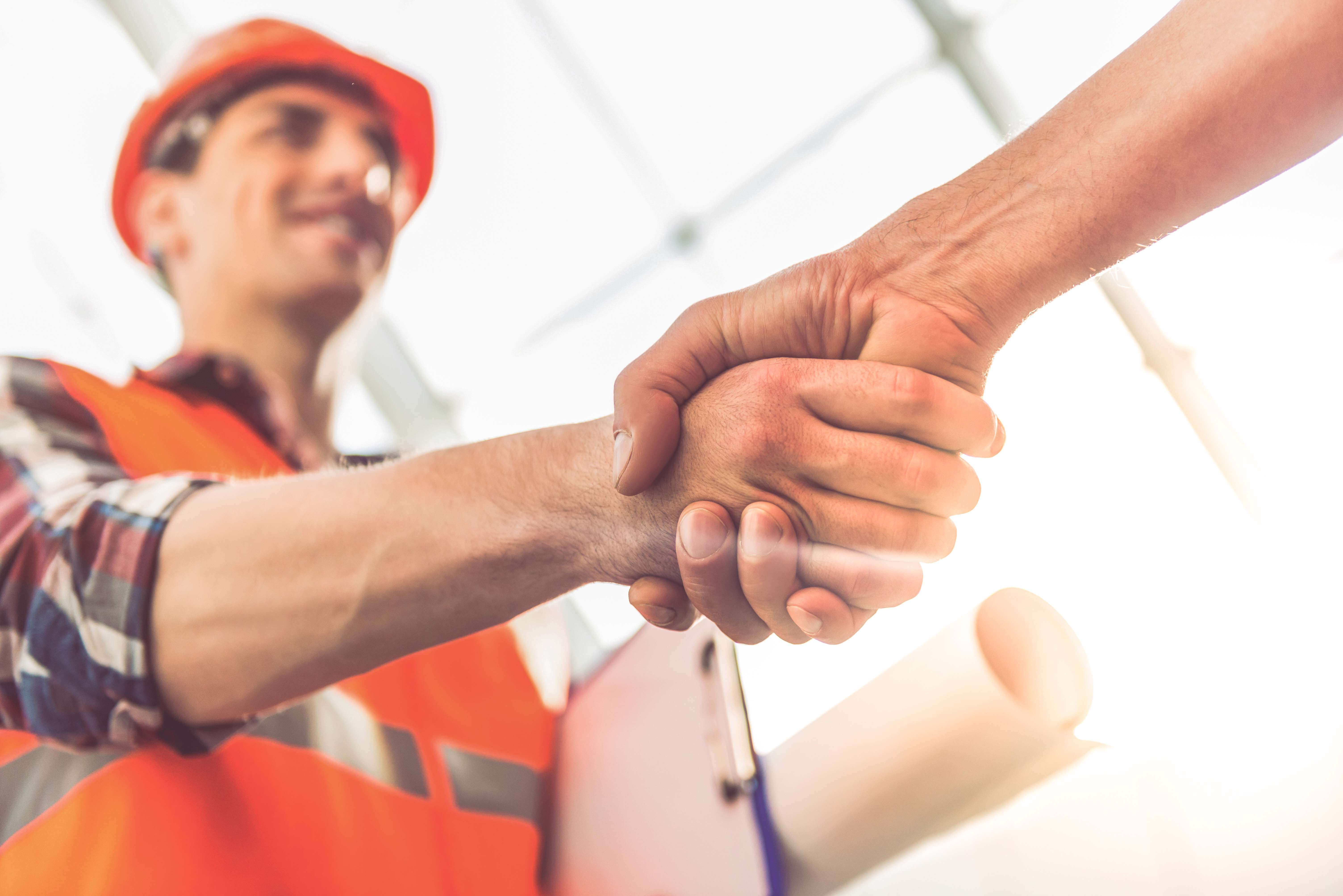 subcontractor winning construction bid