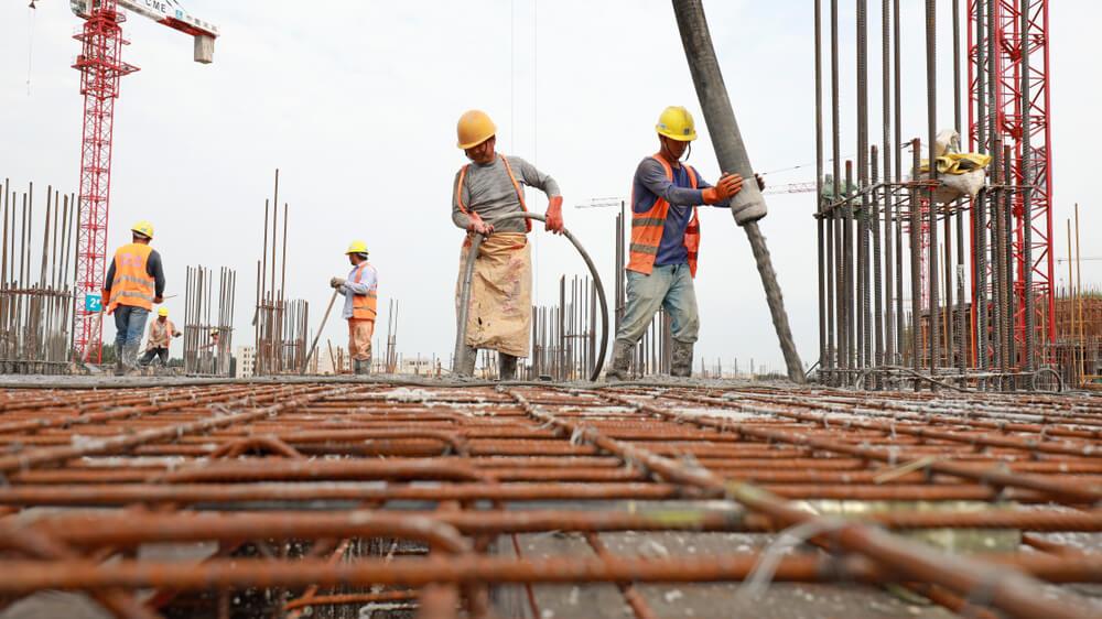 Construction planning crew