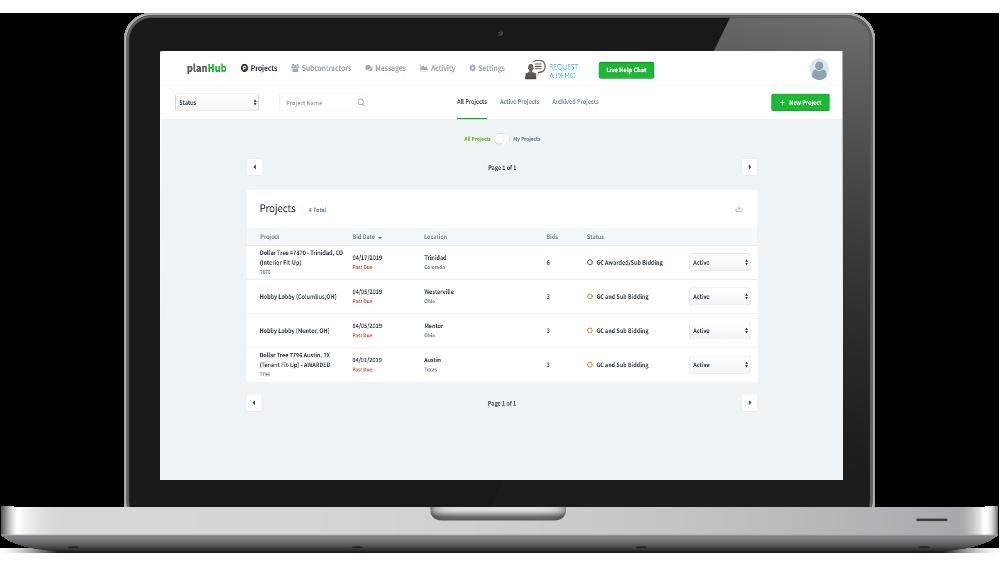 planhub bidding software online