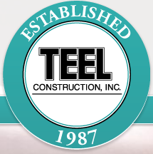 teel construction logo