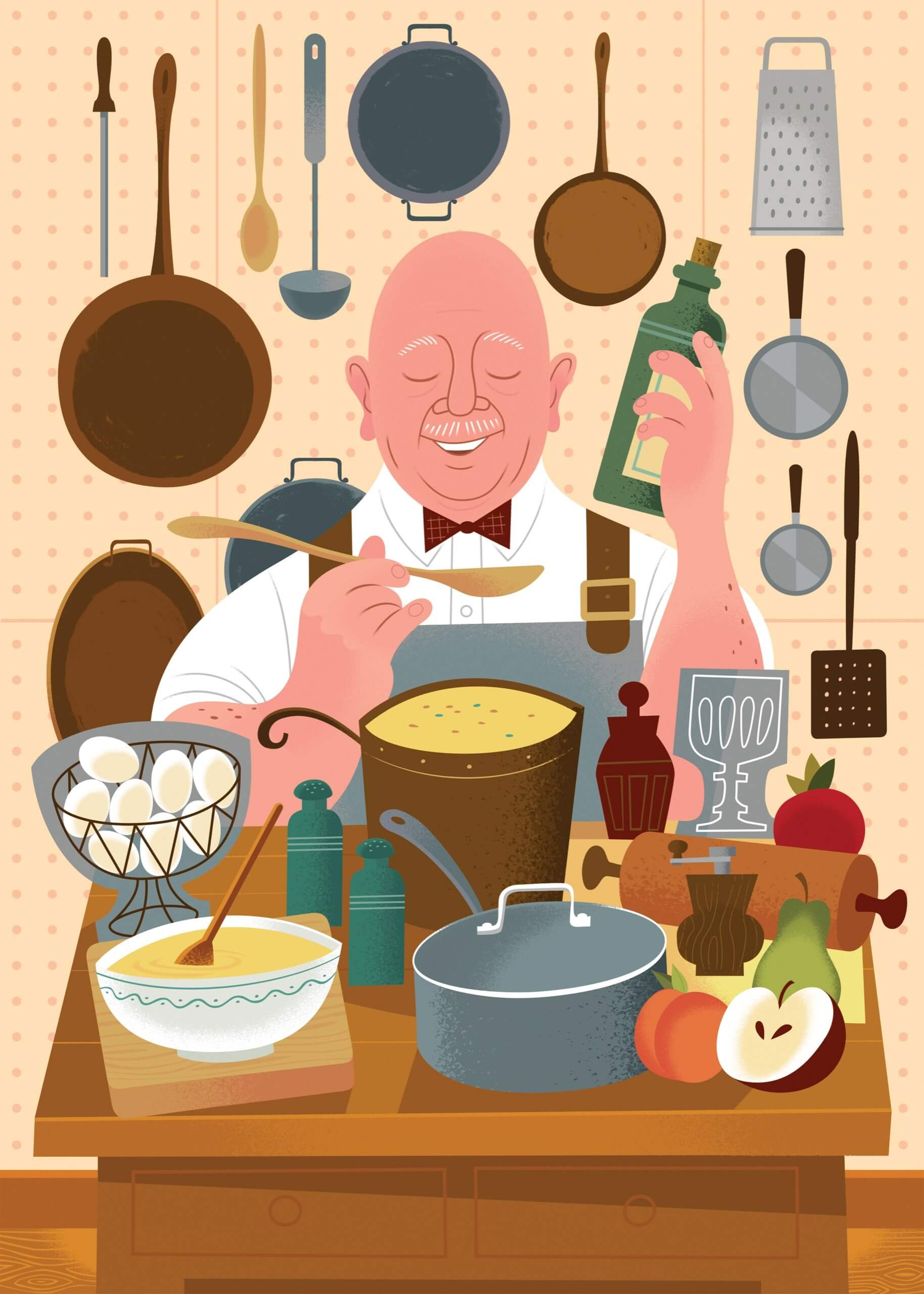 How James Beard Invented American Cooking