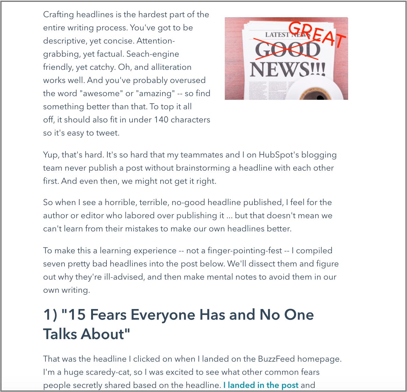 hubspot article fragment