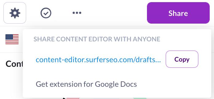sharing content editor