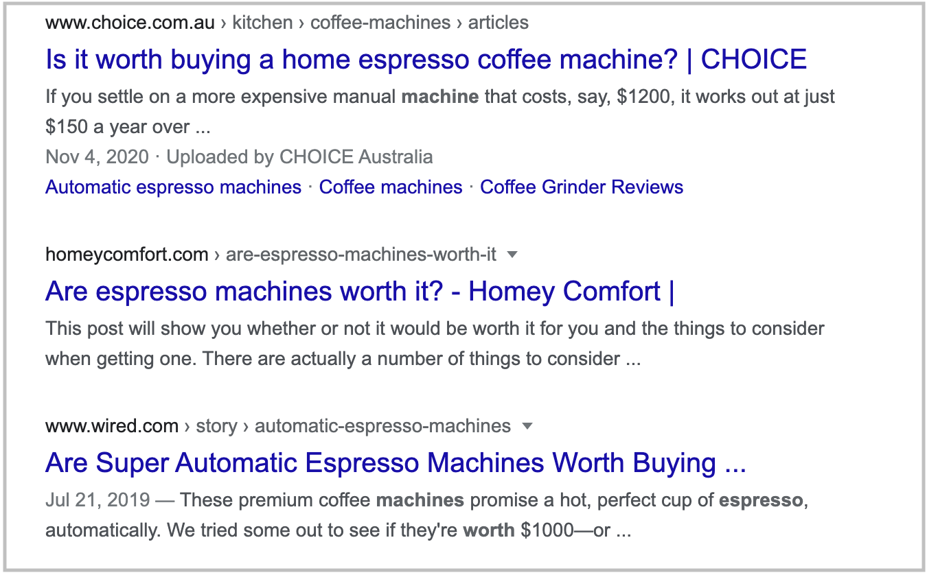 search results for are espresso machines worth it query