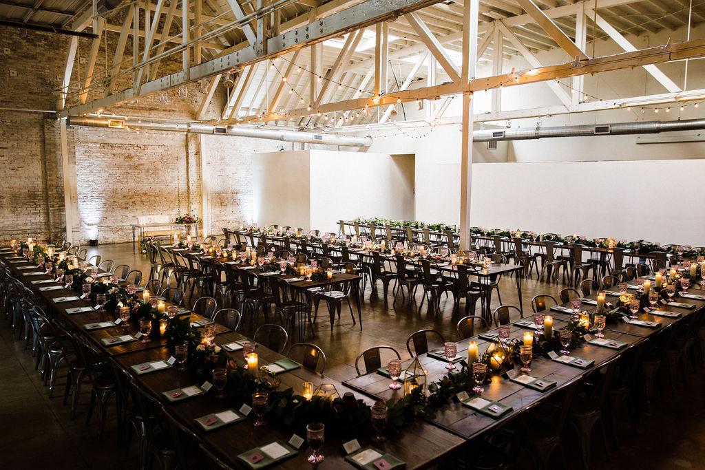honeypot hnypt warehouse wedding