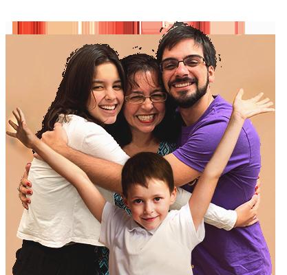 Liber atende toda a família