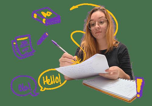 plano intensivo de linguagens