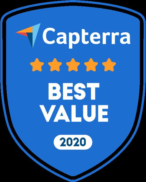 Capterra - Best Value - 2020