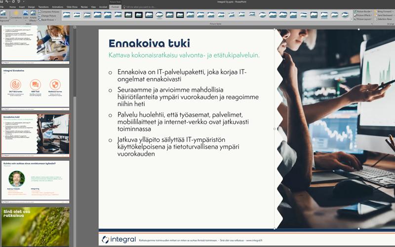 Vinkkivideo: PowerPoint kuvien pakkaaminen