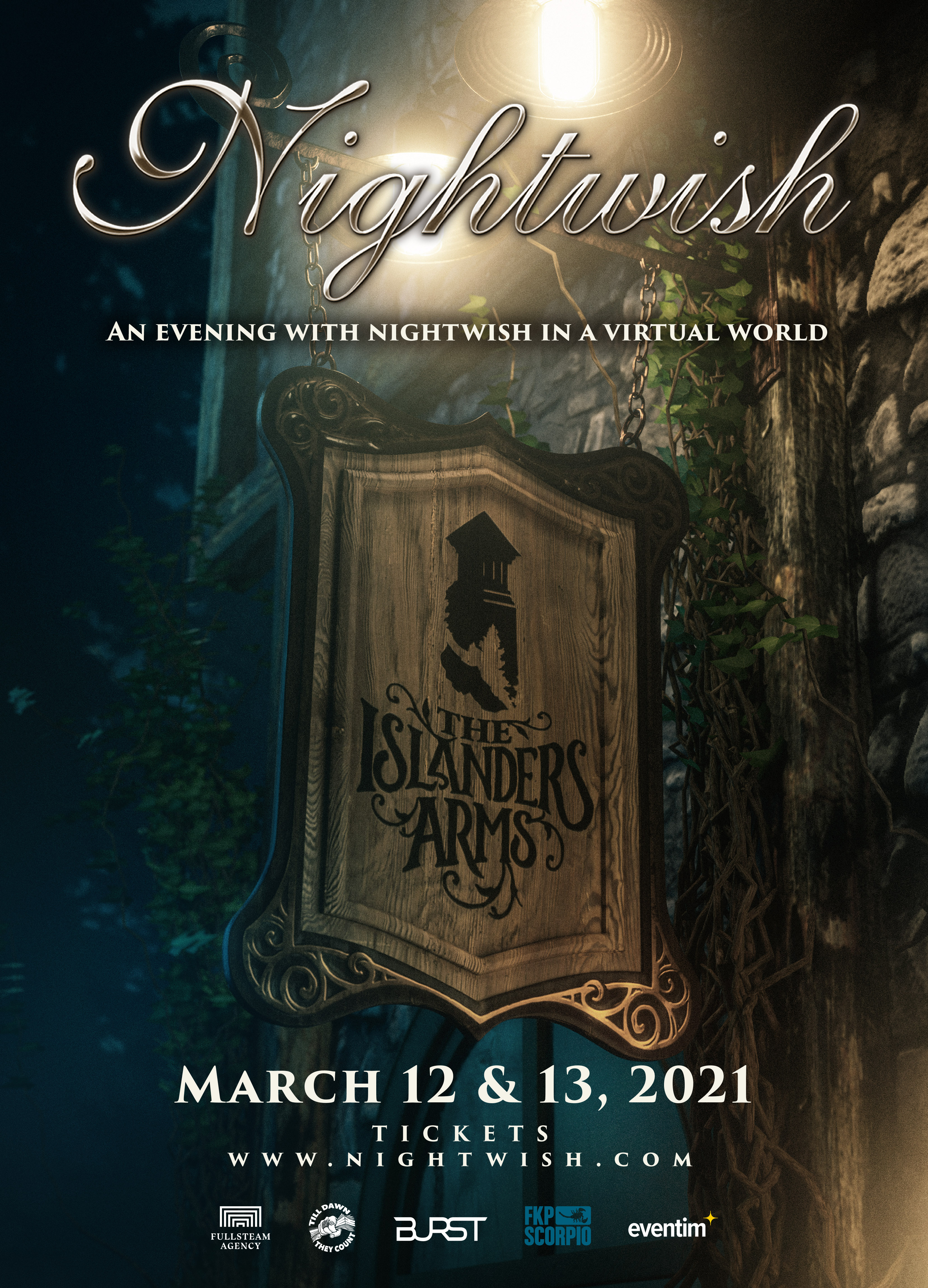 An Evening With Nightwish In A Virtual World Poster